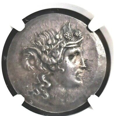 Aphrodite- Ngc Thrace, Island Of Thasos, Ancient Greek Silver Tetradrachm