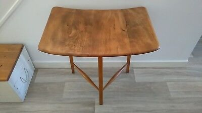 RARE 1950's VINTAGE ERCOL EARLY KITCHEN DINING TABLE EXTENSION SIDE TABLE No177