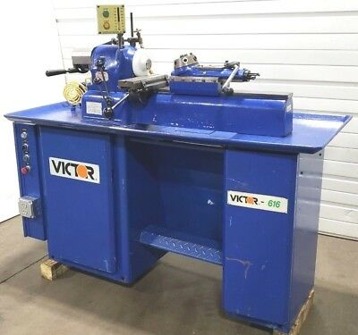 See Video of RUNNING! VICTOR EVS 616 COLLET TURRET LATHE Hardinge HLV DSM HC DV