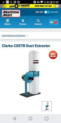 Clarke CDE7B Dust Extractor 6470305