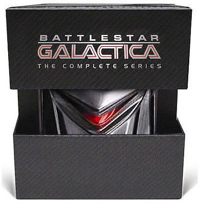 Battlestar Galactica - The Complete Series (DVD, 2009, 25-Disc Set)-Like new