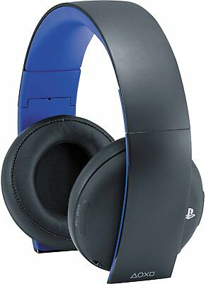 OEM Original Sony PlayStation Gold Wireless Stereo Headset for Sony PlayStation
