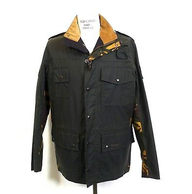 Barbour  Cowen Commando Sage  Waxed Jacket New With Tags Various Sizes. *