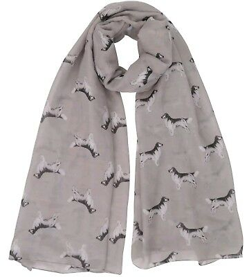 Golden Retriever Print Ladies Scarf New To Range Lovely Gift Fast Despatch