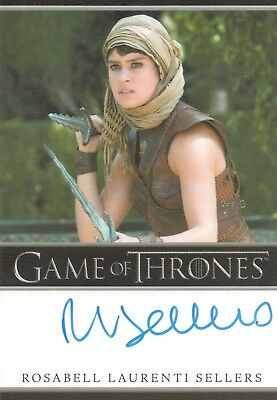 Game of Thrones Season 5, Rosabell Laurenti Sellers 'Tyene Sand'' Autograph Card