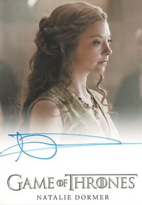 Game of Thrones Season 5, Natalie Dormer 'Margaery Tyrell' Autograph Card
