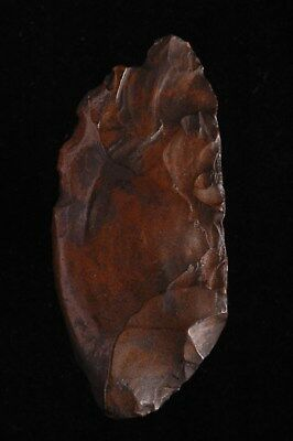 ACHEULEAN ~ MIDDLE PALEO SCRAPER,KNIFE, TOOL, NW Kenya, Rift Valley, Africa