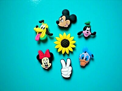 Clog Shoe Charms Button Plug Accessorie Disney Mickey Minnie Mouse