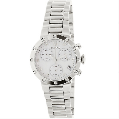 Bulova Stainless Steel Bracelet Watch 96R202