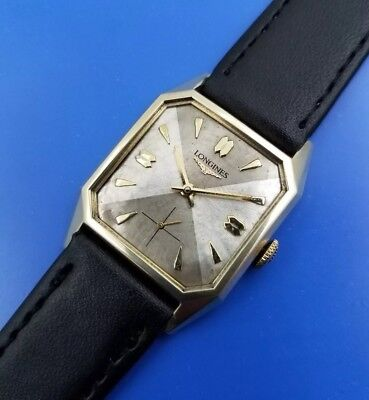 Vintage 1962 Mans LONGINES Hand Winding Fully Serviced WARRANTY