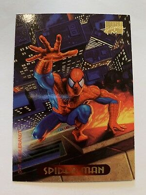 1994 Marvel Masterpieces Fleer Card #115 Spider-Man