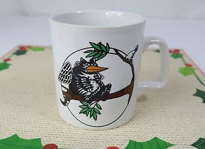 Vintage Kliban Dressed as a Bird Coffee Mug Kiln Craft Staffordshire England