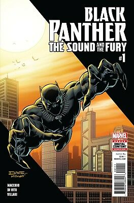Marvel Promo Comic Poster Black Panther The Sound And The Fury #1