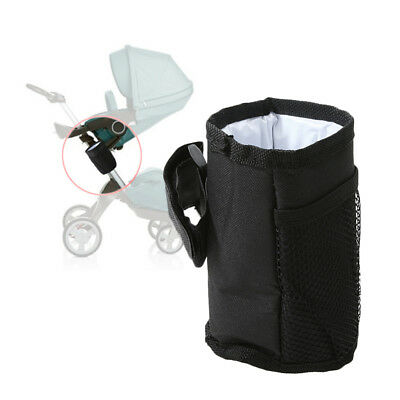 Plastic Pushchair Bag Bicycle Cup Holder Outdoor Organizer Stroller Bottle Rack