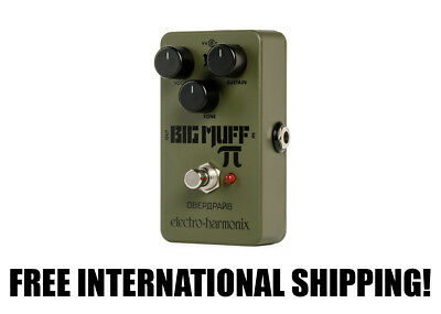 Electro-Harmonix Green Russian Big Muff FREE INTERNATIONAL SHIPPING