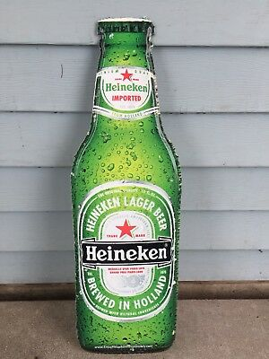 Heineken Premium Beer Tin Bar Sign Collectable Mancave