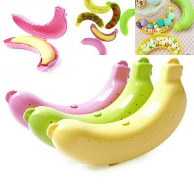 Banana Protector Case Container Trip Outdoor Lunch Fruit Box Storage Holder NR7