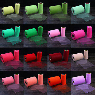 Crystal Tulle Roll Shiny Sheer Gauze Organza Girls Party Wedding Decorations 1PC