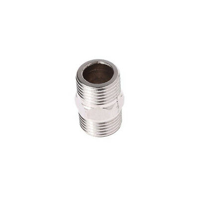 "whitworth 1/4""Male TO 1/4""Male Hex Nipple Stainless Steel Threaded Pipe Fitting"