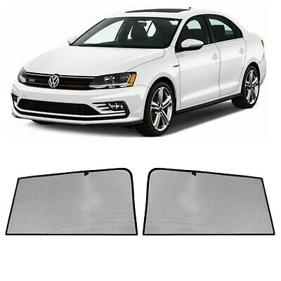 Rear Door Car Window Sun Shade Solar Shield Blind Mesh For VW Jetta Sd 2011-2018