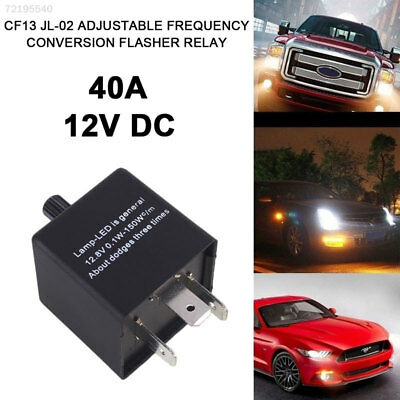 48EA LED Car Flasher Variable Frequency Auto Durable Hyper Flasher Relay