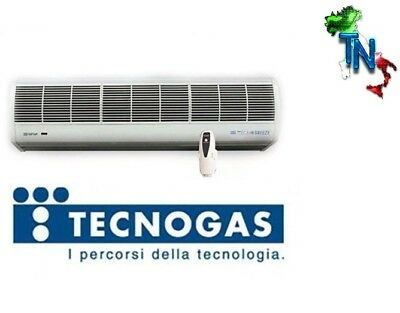 Barriera D'aria Tecnogas Tecnobreeze Natural Wind 90 120 150 180 Cm Telecomando