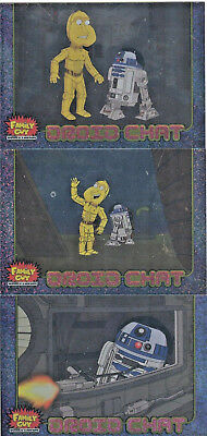Star Wars - Family Guy - Droid Chat - Chase Card SET (3) - NM