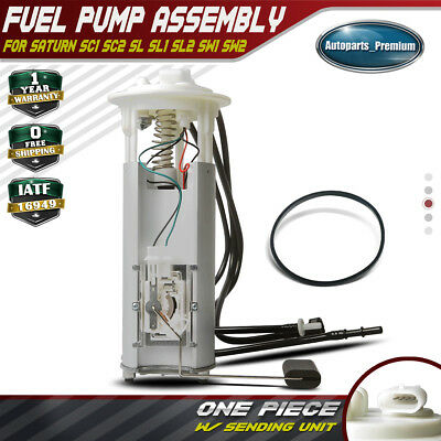 Spectra SP3905M Fuel Pump Assembly For 1991-96 Saturn SL2 1993-96 SC2 Gas Eng.