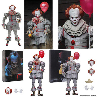 NECA Ultimate IT PENNYWISE I Heart Derry BLOODY Clown Gamestop EXCLUSIVE Figura