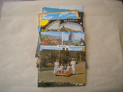 21 OLD (60s70s)POSTCARDS - VARIOUS PORTUGAL / MADEIRA DESTINATIONS