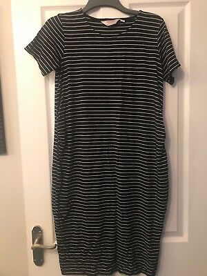 2dad9d217f4d2a Dorothy Perkins Maternity Womens Black &White Striped Top. Size 14. Ex  Condition