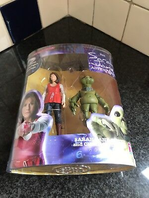 Doctor Who - Sarah Jane Smith & Child Slitheen Action Figure Set