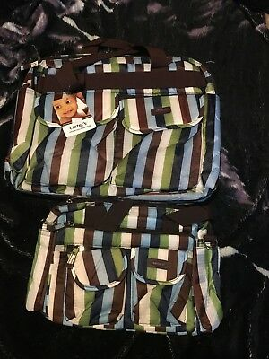 Carter's Mum/baby diaper nappy changing bags bnwt free post (f76) baby