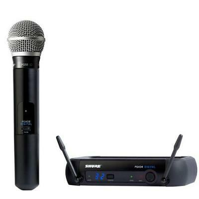 Shure PGX24D/PG58 Digital Handheld Wireless System
