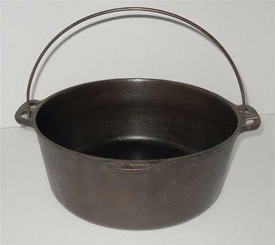 Vintage Cast Iron Wagner Ware Sidney O Dutch Oven # 1268 No Lid Camping