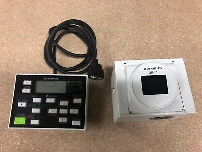 Olympus DP11-N Digital Microscope Camera + Keyboard *Fully Working*