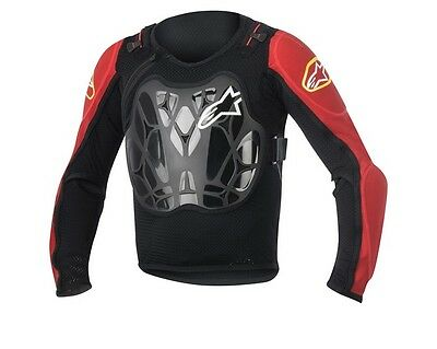 Alpinestars Bionic Youth Jacke Brust / Arm / Schulter Armour Motocross MX