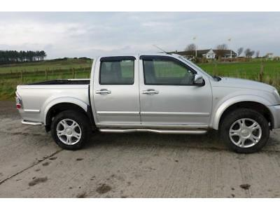 Isuzu Tf Td P/U 4X4 Dcb Rodeo Denve-Max Pick-Up 3.0 Manual Diesel