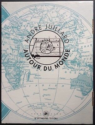 AROUND OF THE WORLD Portfolio Juillard 747 ex. n & s Ed The Pythagoras 1992 Mint