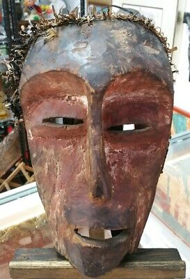 Early 20th Century Cherokee Ceremonial Booger Mask (Native American Antique)
