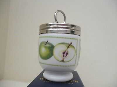 Royal Worcester  Egg Coddler Apples Standard Size Boxed & Directions
