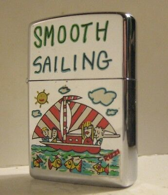 1993 Pop Art Sailboat Zippo Smooth Sailing By Artist James Rizzi