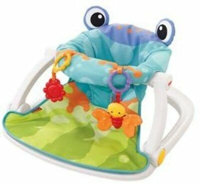 BRAND NEW!!! Fisher-Price Sit-Me-Up Floor Seat, Frog FREE SHIPPING!!!