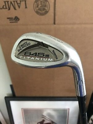 Tommy Armour 845S Titanium Irons PW Pitching Wedge GRAPHITE REGULAR FLEX!!