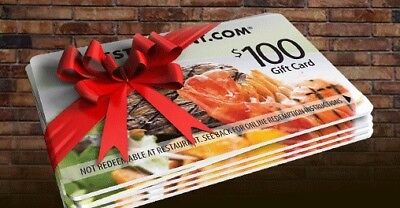 10x$100 Restaurant.com - Nationwide - Gift Certificates [Free Shipping]