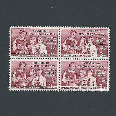 100th Anniversary of the Teachers Assoc. - Vintage Set of Stamps 61 Years Old!