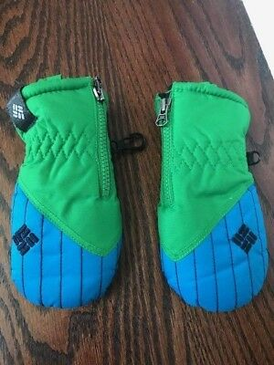 Columbia Infant One Size Water Repellant Mittens