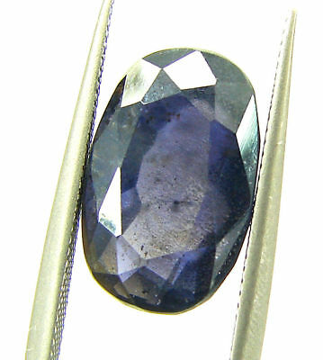 4.55 Ct Certified Natural Iolite Loose Gemstone Oval Stone - 108629