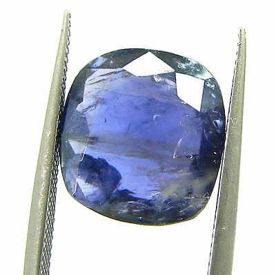 4.15 Ct Certified Natural Iolite Loose Gemstone Oval Stone - 108633