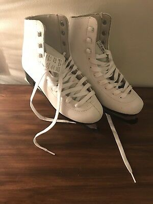 White Ice Skating boots